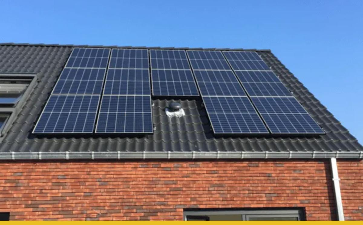 Energy King zonnesysteem dak